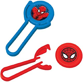 12-Piece Spider-Man Disc Shooters, Multicolored