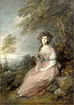 Posterlounge Cuadro de Aluminio 13 x 18 cm: Mrs. Richard Brinsley Sheridan de Thomas Gainsborough/Everett Collection
