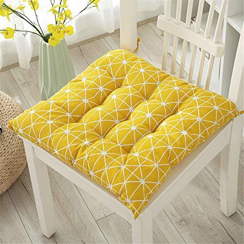 GLITZFAS Cuscino Sedia 40x40cm,Cuscini da Sedia 40x40cm, Cuscini Sedia per Interni ed Esterni - Decorazione di mobili da Giardino di Diversi Colori Cuscini per sedie (H,Set di 2)