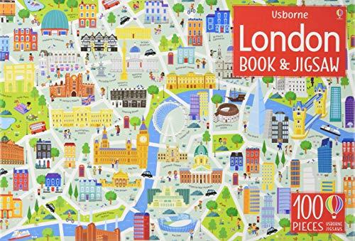 London ( Jigsaw & Book) (Usborne Book and Jigsaw)