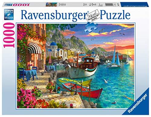 Ravensburger Puzzle 1000 Pezzi, Meravigliosa Grecia, Collezione Paesaggi & Foto, Jigsaw Puzzle per Adulti, Puzzle Ravensburger - Stampa di Alta Qualità
