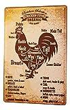 LEotiE SINCE 2004 Blechschild Vintage Retro Metallschild