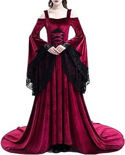 Amazones Vestido De Novia Medieval Adultos Disfraces