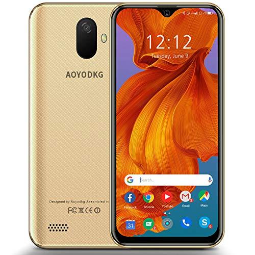 Smartphone ohne Vertrag Günstig Android 9.0 Handy 3 GB + 32 GB, 128 GB erweiterbares 4G Dual-SIM Smartphone, 5 MP + 8 MP Dual-Kamera, 3400 mAh, 5,5-Zoll-HD-Bildschirm Quad-Core-Handys