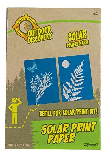 Toysmith Solar Print Papier-Nachfüllpackung