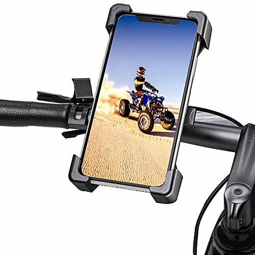 Supporto per cellulare per bicicletta Select Zone stabile per cellulare moto universale iPhone, Samsung, Huawei, ecc., con rotazione a 360°