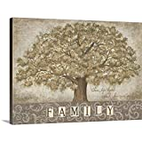 Our Family Tree Canvas Wall Art Print, 24'x18'x1.25'