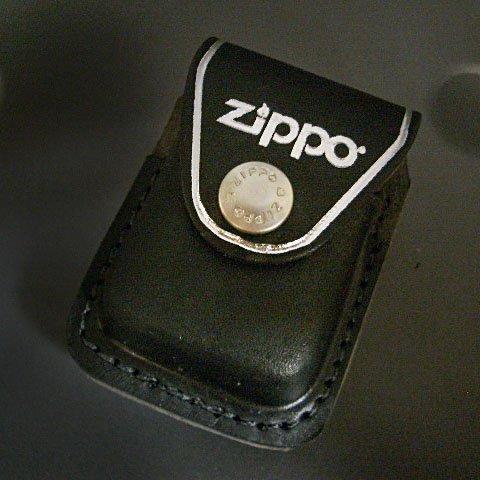 zippo 革ケース US ジッポーケース BK クリップ