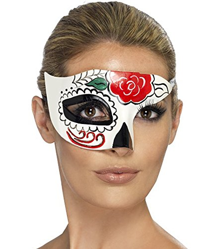 Fantasy Knallbunte Maske Day of The Dead -Mexiko-Stil