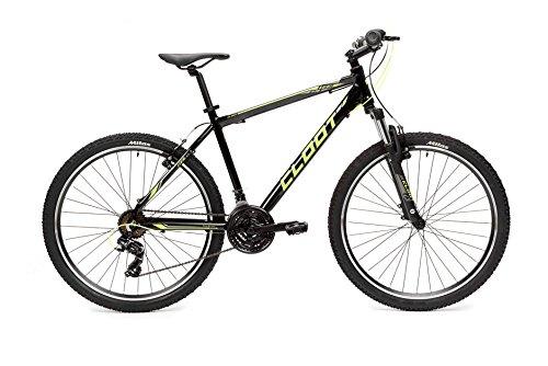 CLOOT Bicicletas montaña 27.5-Bici montaña Trail 2.1 con Horquilla 100 y Cambio Shimano 21V, Bicicletas montaña Oferta (l)