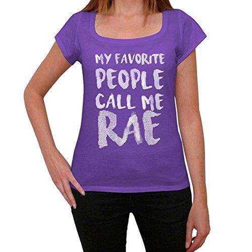 One in the City RAE Mujer Camiseta Púrpura Regalo de Cumpleaños