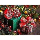 初心者のためのキッズアダルト学生数字でペイントキャンバスキット創造性を使って、脳の貴重な親子ゲームをプレイする40x50cm(フレームレス)クリスマスプレゼント