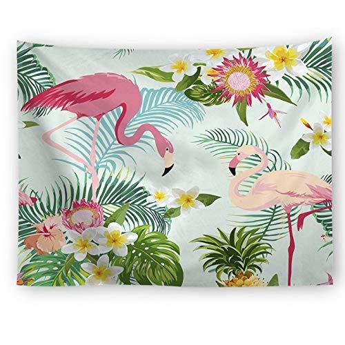 KHKJ Juego de sofás de Yoga de Playa para decoración de Dormitorio de la Serie Flamingo, Manta para Sentarse, Manta para Sentarse A7 150x130cm