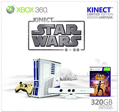 Xbox 360 Limited Edition Kinect Star Wars Bundle from Microsoft