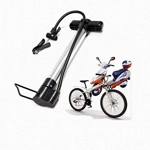 Aoyo Fuß-Pumpen, bewegliche Fahrrad-Pumpe Anti-Rutsch-Hochdruck-Mini-Pumpen, for Presta und Schrader Ventile, Mountainbike Roads Rollstuhl Motorrad