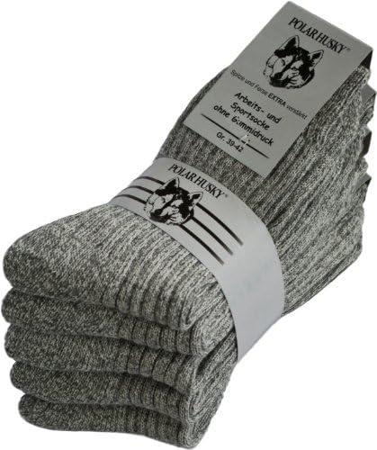 43-46 Merino Black-Grey umi Trekkingsocks