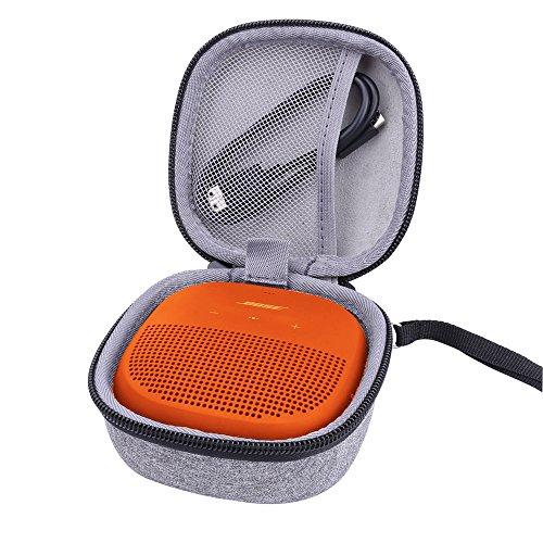 für Bose SoundLink Micro Bluetooth Lautsprecher Hart Hülle Taschen von Aenllosi(Nur Tasche)