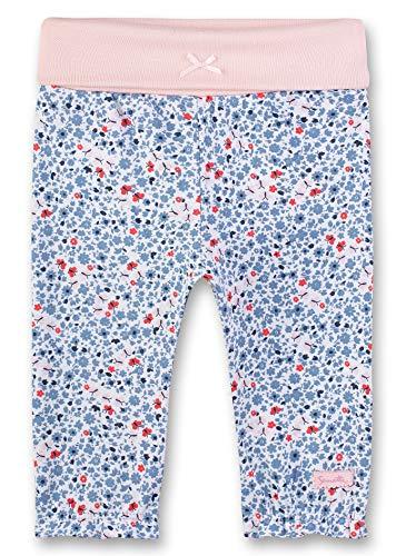 Sanetta Baby-Mädchen Fiftyseven Hose, Blau (Cornflower Blue 50316), 68 (Herstellergröße: 068)