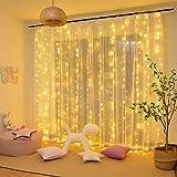 Tenda Luminosa LED, Tenda con Catena di Luci, 3x3㎡, Impermeabilità IP44, Stelle LED A C...