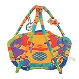AIBAB Baby Spielmatte Rainforest Erlebnisdecke Kind Krabbeldecke Schlafdecke Fitness-Rack Löwe Spieldecke Früherziehung Lernspielzeug Faltendes Design Ist Einfach Zu Tragen