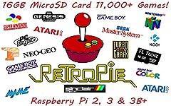 Raspberry Pi 4 Model: https://www.amazon.com/dp/B088LP5J36 Pre-loaded 16GB Micro SD card RetroPie Verison 4.5 Installed FL Techz instructions are provided for EASY INSTALL!