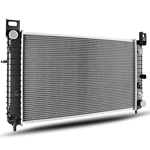 Radiator Compatible with Chevy Silverado Sierra Suburban Tahoe GMC Yukon 4.3L 4.8L 5.3L 6.0L V6 V8 WITHOUT ENGINE OIL COOLER ATRD1035