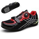 JINHU Antideslizante, Zapatos De Ciclo MTB Zapatos Zapatillas De Deporte De Los Zapatos De Bicicleta De Montaña Camino De La Bicicleta Profesional De Las Zapatillas De Deporte De Ciclo Ultraligero