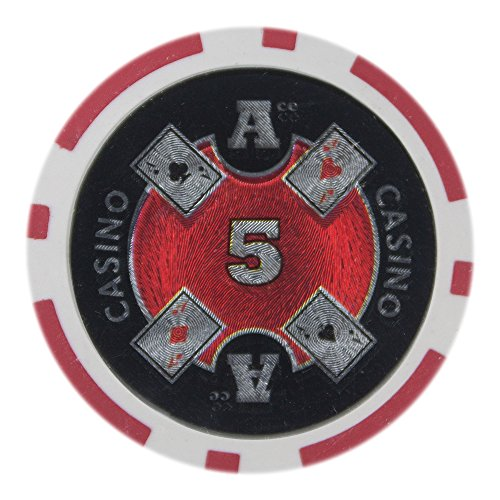 Brybelly Ace Casino Poker Chip Heavyweight 14-Gram Clay Composite