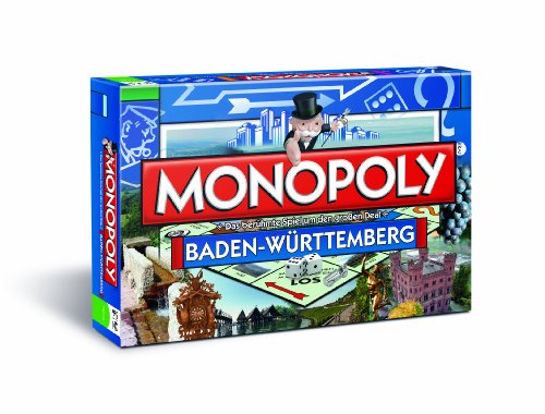 Monopoly Baden Württemberg Edition (limitierte Auflage) - Das berühmte Spiel um den großen Deal!