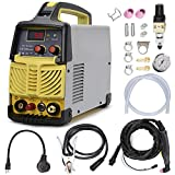 Plasma Cutter, 50A Non-Touch Pilot Arc Inverter DC Inverter 110/230V Dual Voltage Cutting Machine With Intelligent Digital Display With Free Accessories Easy Cutter Welder