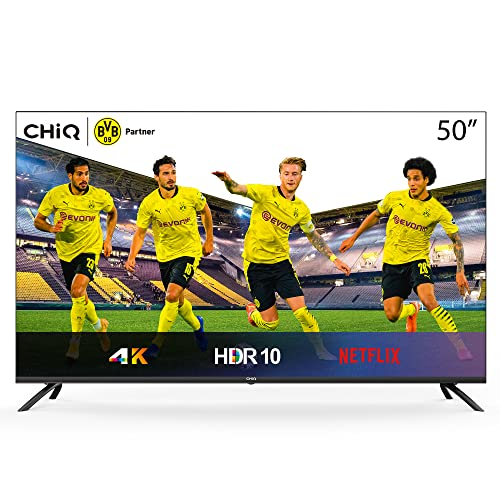 CHIQ Rahmenloser UHD TV 4k Bild