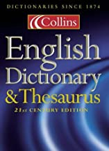 Collins English Dictionary and Thesaurus (Dictionary/Thesaurus) by Various authors (2000-11-06)
