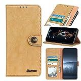 SOUFU Billetera para Samsung Galaxy Xcover 5 Avanzada anticaída y Resistente a los arañazos de TPU, Adecuada para Samsung Galaxy Xcover 5(Broncearse)