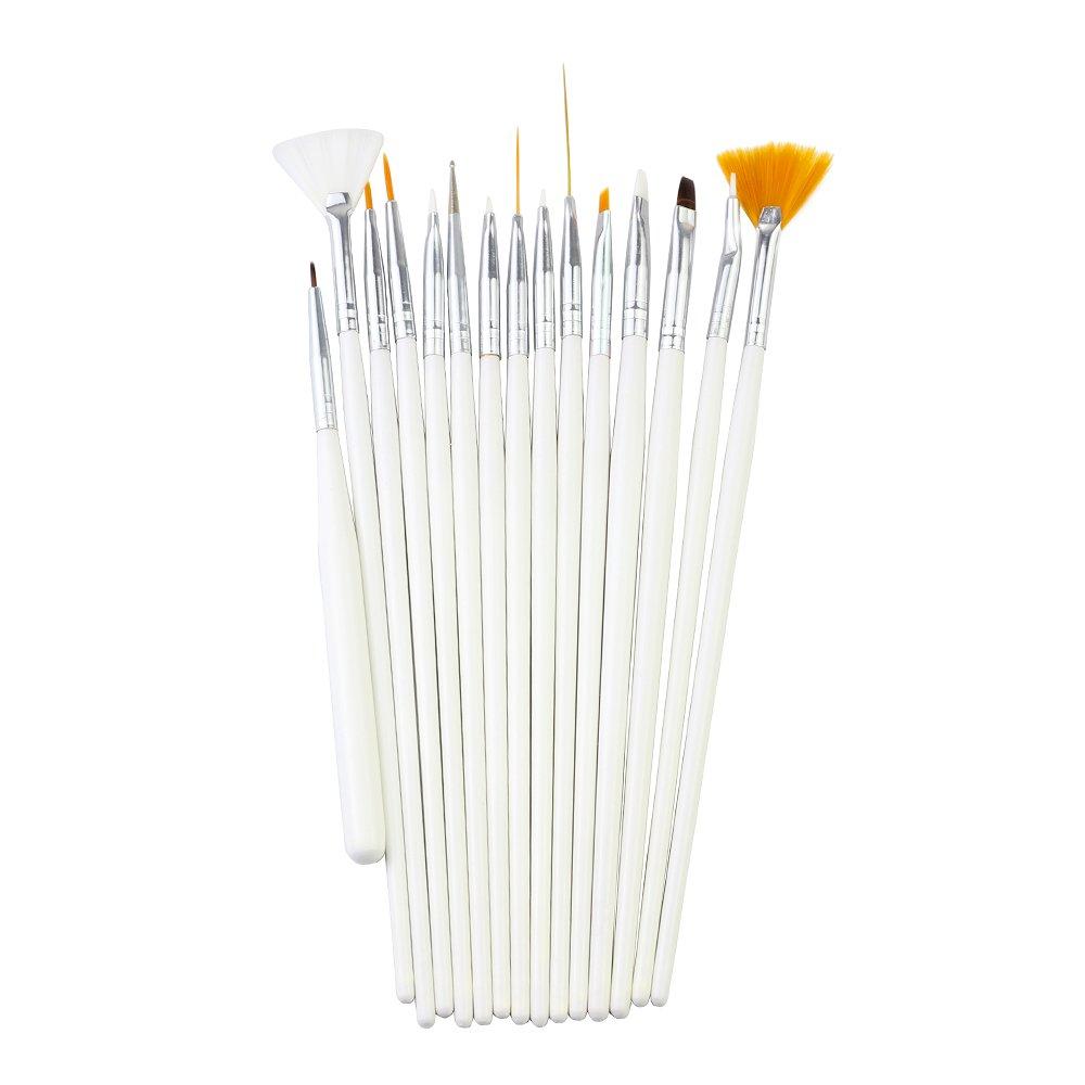 CHOP MALL 15pcs Acrylic Brushes