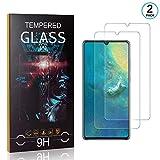 Ramcox Displayschutzfolie für Huawei P30, 9H Härte Anti Fingerprint Displayschutz, 3D Touch Schutzfilm aus Gehärtetem Glas, 2 Stück -