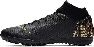 Nike SuperflyX 6 Academy Men s Turf Soccer Cleats Black 95683c36044aa