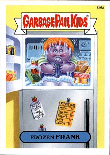 2014 Garbage Pail Kids Series Two #69a Frozen Frank