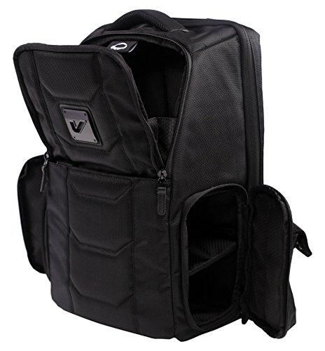 Gruv Gear Club Bag Elite Flight-Smart Tech Backpack, Stealth Black
