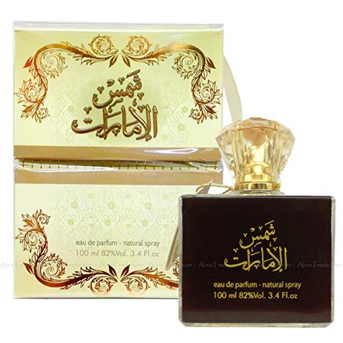 Shams Al Emarat por Ard al Zaafaran Perfume (dulce/picante/amaderado) en espray, 100 ml