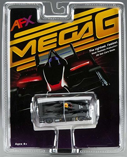 Mega-G Audi R10 Test Black Slot Car