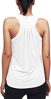 Mippo Workout Tops for Women Racerback Tank Tops Muscle Tank Athletic Yoga Tops