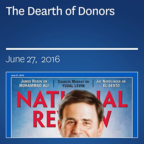 The Dearth of Donors audiobook cover art
