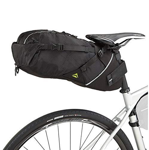 Merida Bikes - Bolsa Gravel Resistente al Agua   Elementos Reflectantes   Alforja de Viaje   Fácil Instalación