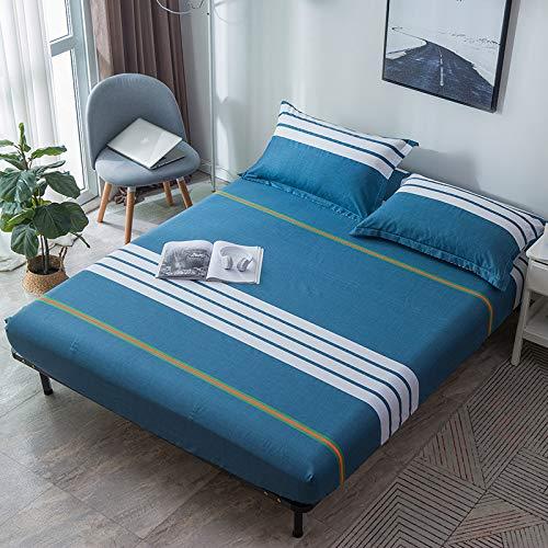 huyiming Gebruikt voor Twill gedrukt eenpersoons bed deksel 1,5/1,8 m bed cover bedzak Simmons matrashoezen