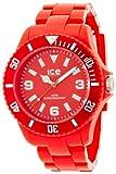 Ice-Watch Ice-Solid SD.RD.B.P.12 - Reloj analógico de Cuarzo Unisex, con Correa de plástico, Color Rojo