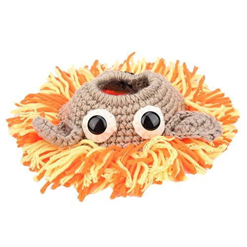Gerioie Poupée Guide Photo pour bébé, Anneau décoratif d'objectif de caméra tricoté Anti-Casse, sain pour bébé Nourrisson(Number 1)