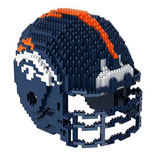 Denver Broncos NFL Football Team 3D BRXLZ Helm Helmet Puzzle