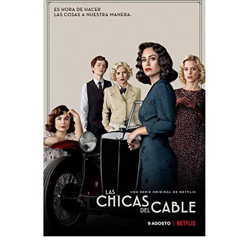 Los carteles de la serie de televisión Cable Girls Season 4 (2019)...