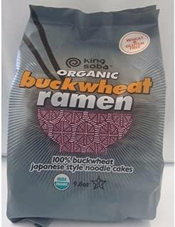 Organic Buckwheat Ramen Noodles, Gluten Free - 9.8 oz (Pack of 6)