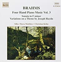 Four Hand Piano Music 3 by Silke-Thora Matthies (1998-09-29)